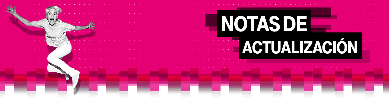 T-Mobile Support Update Notes Banner